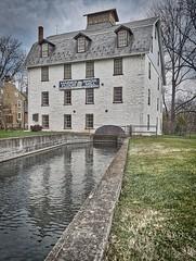 Haines Mill (shamal1) Tags: allentown flour water park grass sky pennsylvania 18th century museum winter lehighcounty lehighvalley