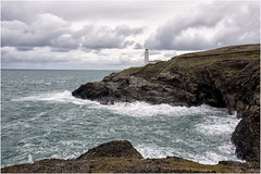 Trevose Lighthouse (hisdream) Tags: trevoselighthouse cornwall sea rough waves stormy lighthouse