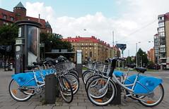 Bicicletes Styr & ställ a Göteborg (tgrauros) Tags: bicicletes gothenburg konungariketsverige sverige sweden göteborg bikes styrställ bicyclesharingsystem
