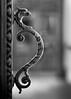 Harry Potter Handle (adrian.sadlier) Tags: harrypotterhandle doorhandle griffen hogsworth nationallibraryofireland mono dof door handle pun