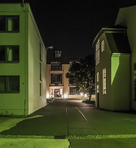 Green night at Bauhaus University