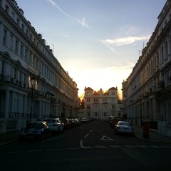 (rileyo) Tags: london england uk sunset architecture nottinghill