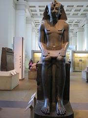 UK - London - West End - British Museum - Amenhotep III (JulesFoto) Tags: uk england london westend britishmuseum ancientegypt amenhotep sculpture pharoah statue