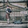 "The ""Brave""... (Alcosinus  On-Off ) Tags: alcosinus nikond700 square carrée bagpipe ecosse scotland edinburgh scotishman"