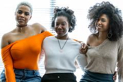 IMG_6705 (sabrinafvholder) Tags: women black african american natural hair ors commercial tea drinking girlfriends