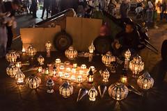 Moroccan lanterns dealer (Stefan Napierala) Tags: marokko marocco morocco marrakesch marrakech marrakesh maghreb medina jamaaelfna stefannapierala