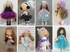 Dolls at STOCK - price from 85 to 115 usd, Fabric doll, Tilda doll, Textile doll, Handmade doll, Rag doll, Baby doll, Interior doll (AnnKirillartPlace) Tags: readydoll babydoll clothdoll artdoll fabricdoll textiledoll tildadoll interiordoll nurserydoll softdoll decordoll russiandoll tildas giftforher babypresent christmasgift