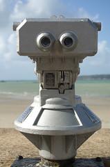 Viewpoint (Cross Duck) Tags: sthelier channelislands jersey telescope seaside seafront promenade