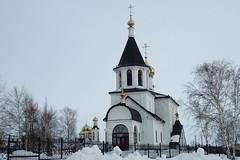 Eglises (8pl) Tags: église нефтеюганск sibérie russie musée neige hiver froid orthodoxe russe сибирь