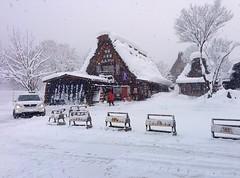 Winter at Shirakawa-go (wkwoo) Tags: japan shirakawago winter white snow thatchroof kissaten gifu