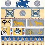 wonderen der oudheid II,1925 ill   Nimrud  paleisdecoratie  b