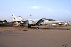 207 HLLM 11-10-2007 (Burmarrad) Tags: airline libya air force aircraft mikoyangurevich mig25 foxbat registration 207 cn hllm 11102007