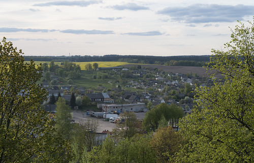 View over Navahrudak, 02.05.2014.