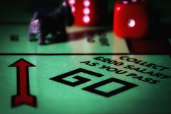 arrow HMM! (Morag.) Tags: macromondays macro arrow monopoly game dice go nikon d3300 nikkor digital