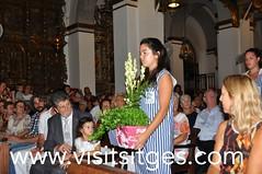 Solemne ofici en honor a St Bartomeu (Sitges - Visit Sitges) Tags: major honor festa sant sitges missa americanos parroquia gegants 2015 solemne bartomeu ofici visitsitges fmsitges15