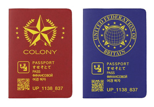 Total Recall (2012) Replica Passport Covers