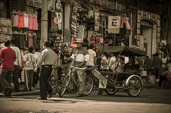 Rickshaw Driver, Mexico City (german_long) Tags: bike méxico mexicocity rickshaw méxicodf