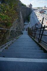 Looking down... (Explore 31-08-2015) (annesjoberg) Tags: stairs sweden stockholm slussen fotosondag fs150830 skiftningar