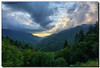 Evening in the Mountains (Fraggle Red) Tags: trees sunset summer mountains clouds evening nationalpark dusk tennessee hills overlook smokies hdr smokymountains greatsmokymountains newfoundgaproad greatsmokymountainsnationalpark us441 7exp canonef1635mmf28liiusm dphdr mortonsoverlook canoneos5dmarkiii 5d3 5diii adobephotoshopcs6 adobelightroom5