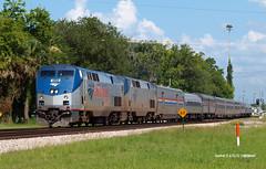 150621_04_AMTK189_98 (AgentADQ) Tags: railroad game train silver big florida amtrak passenger meteor sanford 189 railfanning