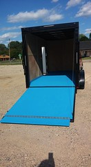 Blue Trailer Coating