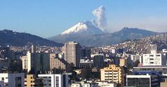 Ciudad presidida por volcán