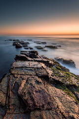 Destiny (Mike Hankey.) Tags: seascape sunrise focus published clear lowtide warriewood