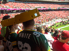 IMGP1591.jpg (AlwaysApex) Tags: game fan football stadium 49ers packers vs packer cheesehead 2015 packersat49ers packersat49ers2015