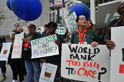 World Bank Protest & Press Conference