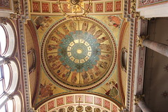 Trading countries - above the Grand Staircase (ian_fromblighty) Tags: england house london open openhouse grandstaircase foreignoffice georgegilbertscott foc 2015 kingcharlesstreet