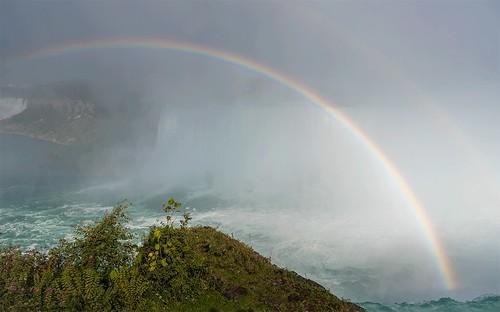 ! gif ! - Niagara Falls - Rainbow - Polarizer