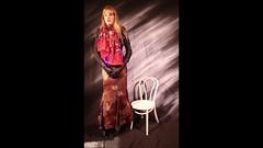 Sabrina's transformation surprise (sabrinamueller789) Tags: butterfly bondage tgirl tranny latex corset bound straightjacket crossdresser straitjacket ballkleid ballgown butterflystraitjacket butterflystraightjacket
