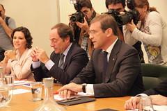 Reunião PSD/CDS-PP com PS