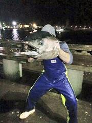 Some tuna with Chris Cassar