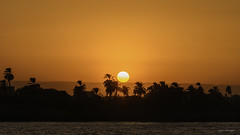 Sunset in the Nile-1 (jflores_cl) Tags: africa atardecer egipto edfu nilo