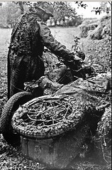 "German motorcyclist stuck his motorcycle Zundapp KS 750 in the russian mud • <a style=""font-size:0.8em;"" href=""http://www.flickr.com/photos/81723459@N04/22403696117/"" target=""_blank"">View on Flickr</a>"