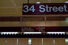 DSC_0840 (IntExp7) Tags: nyc newyorkcity ny newyork station subway manhattan 34thstreet 7 gothamist westside subwaystation 7train 7line nycsubway newyorkcitysubway hudsonyards 34thstreethudsonyards