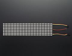 Flexible Adafruit DotStar Matrix 8x32 - 256 RGB LED Pixels (adafruit) Tags: matrix lights leds pixels lotsoflights 2736 adafruit rgbleds flexibleleds rgbmatrices