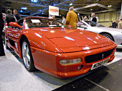 Ferrari F355 GTS (Harry3099) Tags: nec classic motor show cars car supercar super supercars sport sports sportscar sportscars vintage fast slow engine wheels wheel new old tyre exhaust exhausts tyres indoor ride rides ferrari f355 f 355 v8 2 seater two gts seat seats targa roof worldcars