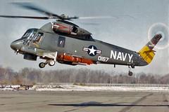 UH-2B Seasprite BuNo 150167 (skyhawkpc) Tags: airplane 1971 aircraft aviation navy helicopter lamps naval usnavy usn kaman seasprite 150167 uh2b