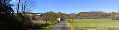 Drive Toward the Mountains (r.w.dawson) Tags: augustacounty virginia va usa road landscape field