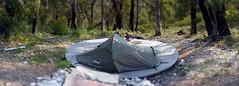 Bugiga Hiker Camp Number 08 (walkingdroid) Tags: hiking australia grampians victoria aus hallsgap bugigahikercamp grampianspeakstrail bugiga