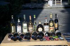 Bottiglie di liquori..antiche (eliobuscemi) Tags: raw bottles liquori