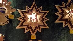 The Star of the Show (grinnin1110) Tags: germany de outdoors deutschland europe christmasmarket weihnachtsmarkt christmasdecorations mainz woodcut marktplatz marketsquare rheinlandpfalz fretwork rhinelandpalatinate holzkunst höfchen laubsägearbeit steffenmachemer