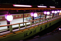 Amikou (tomogon) Tags: tokyonightcruise yakatabune sonycybershotdscrx100
