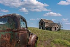 American Dream (llabe) Tags: rust house oldhouse abandonedhouse old pickuptruck truck farmland farm easternwashington wilbur washington nikon d750