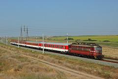 Close to Yambol (Krali Mirko) Tags: bdz train locomotive wagon railway railroad bulgaria      electric skoda 68e3 44 44128 yambol