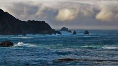 October15Image2983 (Michael T. Morales) Tags: bigsurcoast bigsur clouds waves rockformations hurricanepoint highwayone