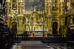 Cracovia - Interno della Basilica Bozego Ciala (ugo.ciliberto) Tags: cracovia polonia basilica bozegociala church ghetto gotico gothic interno interior