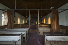 Take your seat (Kriegaffe 9) Tags: chapel church light aches pews religion
